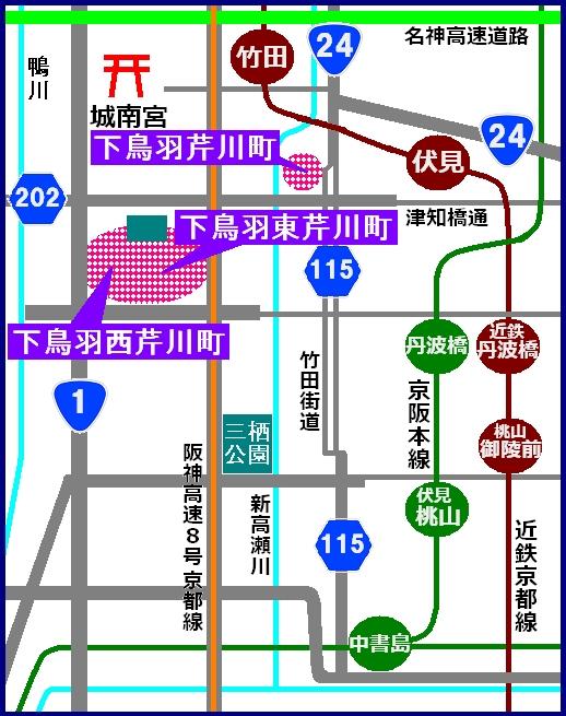 芹川MAP