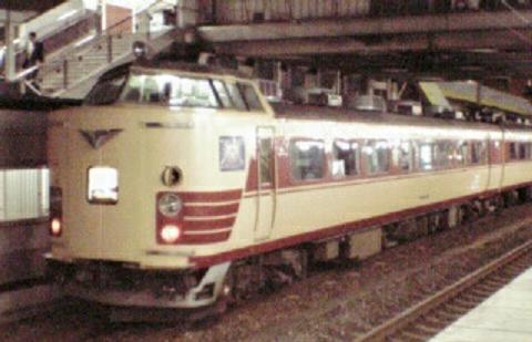 183系電車 北近畿 茨木