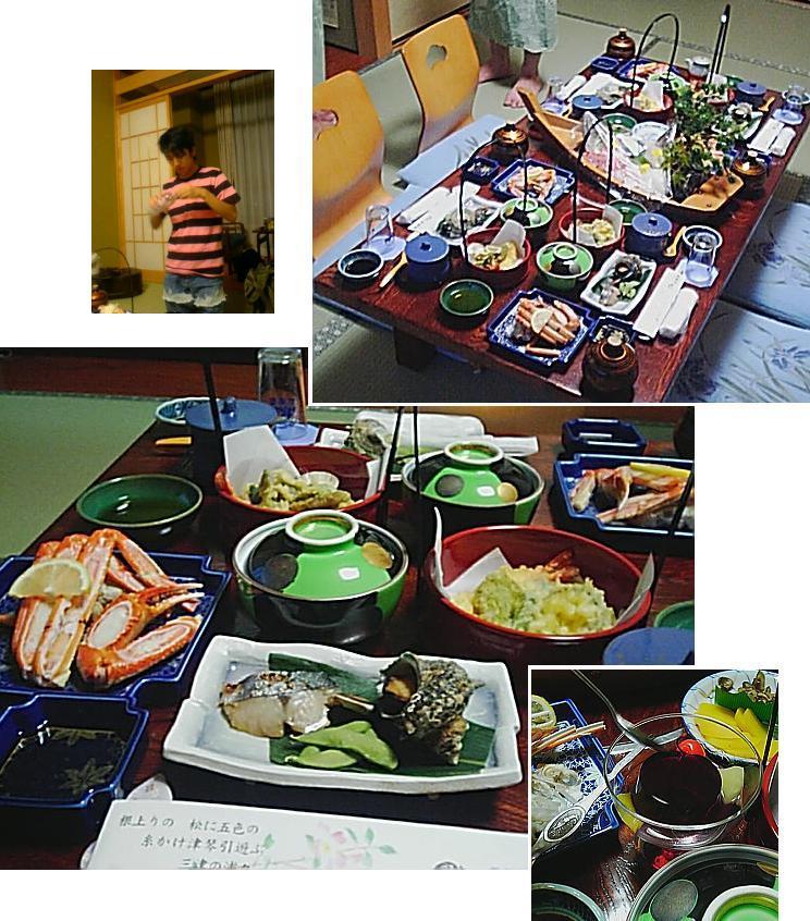 夕食 with oga