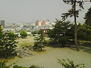 松阪城跡から