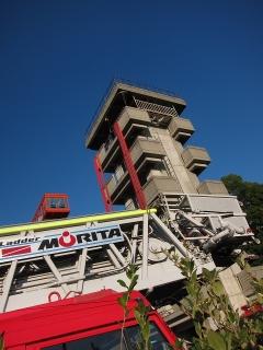 はしご付消防自動車(50m) 中はしご車