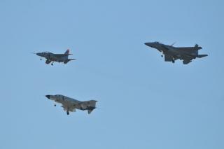 岐阜基地航空祭 T-4、F-15J、F-4EJ改