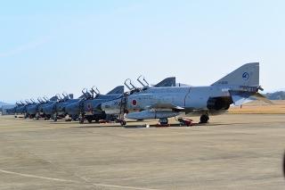 岐阜基地航空祭 F-4ファントムIIの群れ