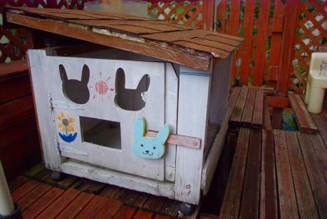 ウサギ小屋解体201201