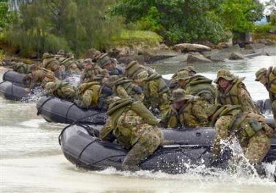 島嶼防衛訓練