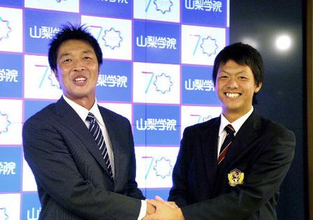 【巨人】育成3位・山梨学院大の田中貴也 諦め目を離している時に指名「本当にうれしい」