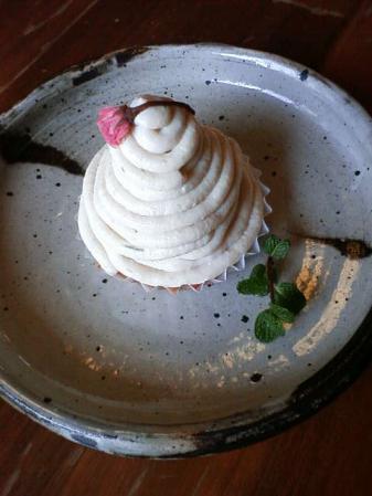 桜の豆腐モンブラン
