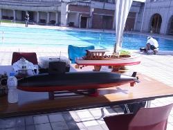 ラジコン潜水艦