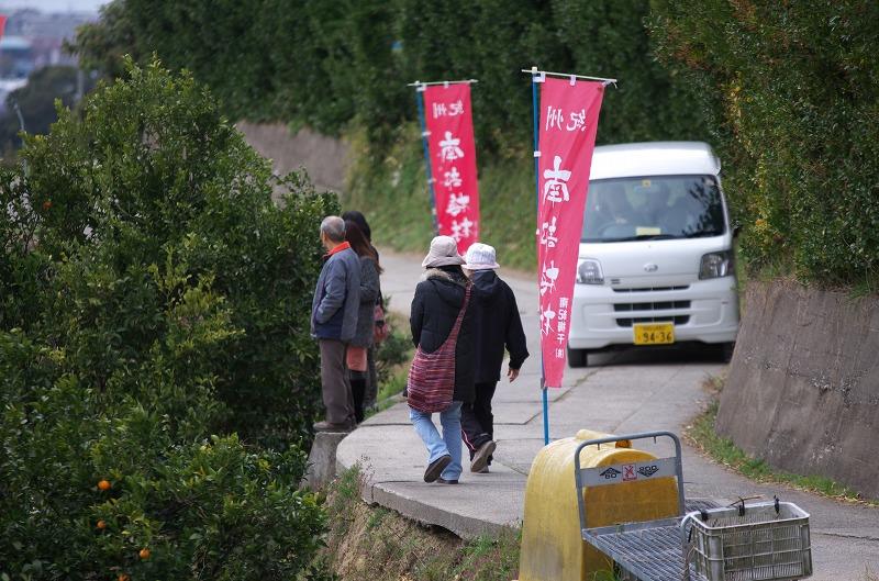 和歌山 南部梅林 Aコース遊歩道