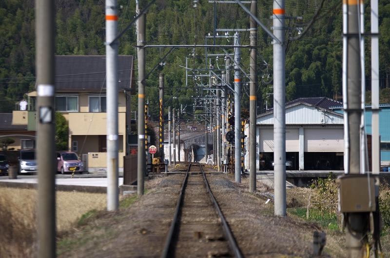 和歌山電鐵 伊太祈曽駅 線路