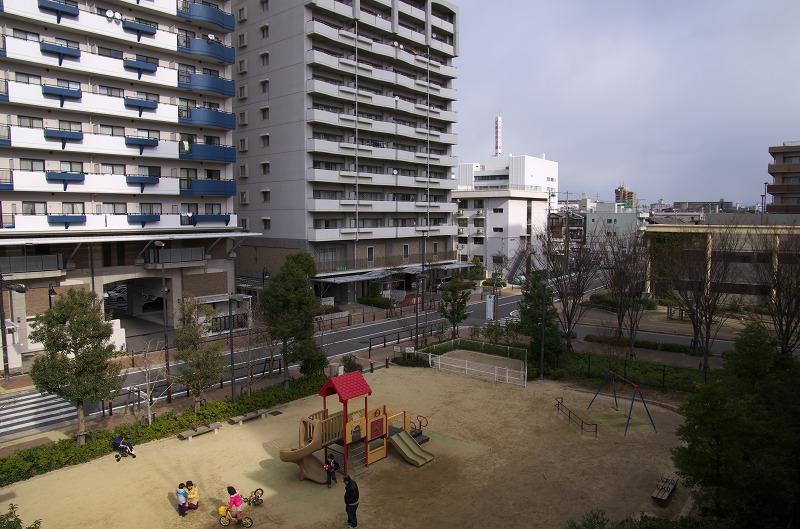 阪神尼崎駅 空中都市