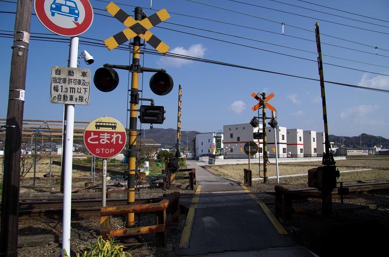 和歌山電鐵 伊太祈曽 踏切