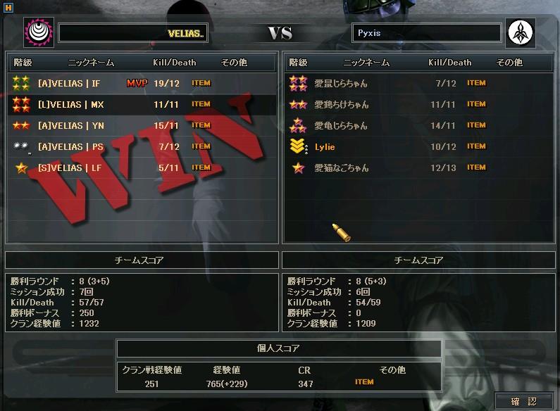 OMTs3回戦 Pyxis