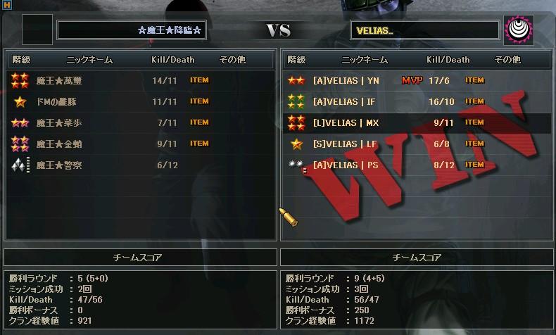 OMTs 4回戦 vs魔王降臨
