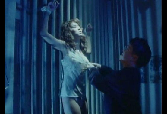 【飯島直子】下着姿で拘束されおっぱい触られる
