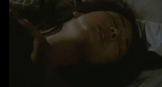 【小林麻美】乳首を吸われる濡れ場