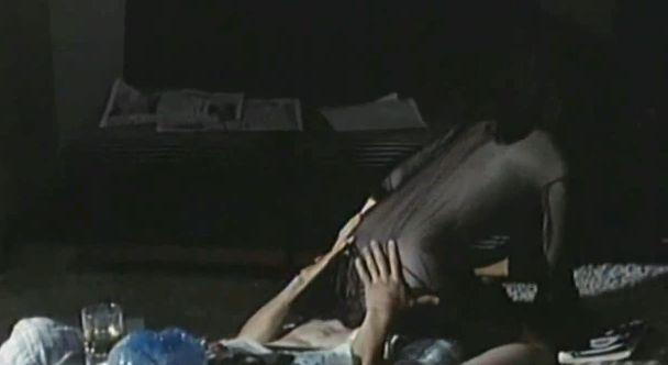 【志麻いづみ】濡れ場で顔面騎乗シーン