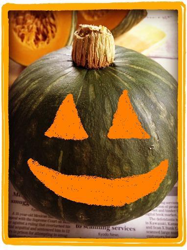 北海かぼちゃ2ハロウィン