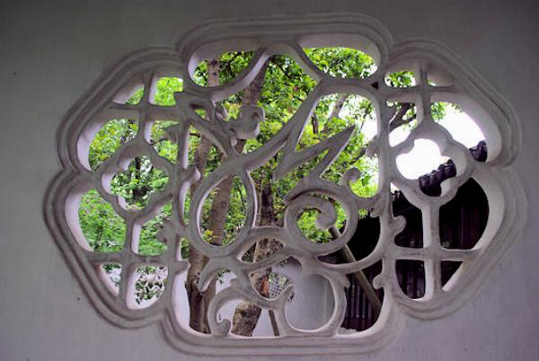 蘇州花窓1