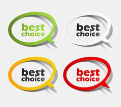 Best Choice Sticker Collection