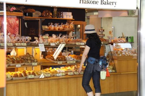 散歩が目的? それとも美味しいパンが目的?