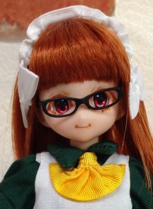 メガネと前髪の具合が絶妙です!
