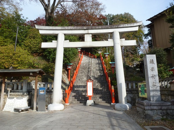 織姫神社 鳥居