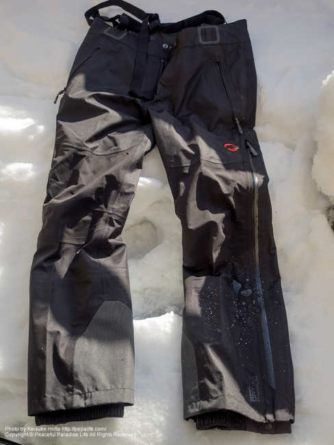 MAMMUT Splide Pants Men(マムート スプライド・パンツ・メン)