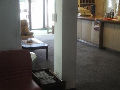 標茶町 標茶駅前 藤花温泉ホテル ロビー フロント