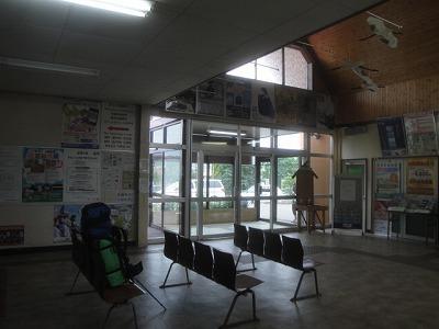 標茶駅 内部の様子