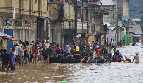フィリピン洪水