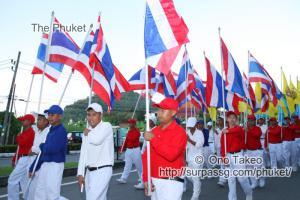 この記事「タイの国旗・国歌」の写真 (342-288)