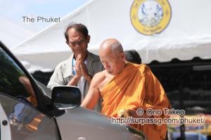 この記事「僧侶の交通安全祈願」の写真 (347-087)
