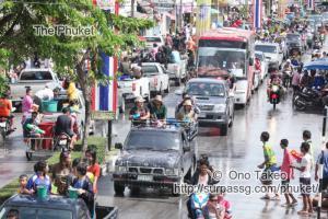 この記事「タイ・プーケット 水掛祭り」の写真 (356-394)