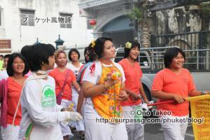 この記事「プーケット ギンジェー祭り その2(JUI TUI寺院編)」の写真 (359-011)