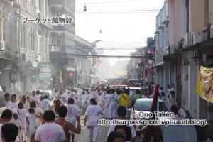 この記事「プーケット ギンジェー祭り その2(JUI TUI寺院編)」の写真 (359-029)