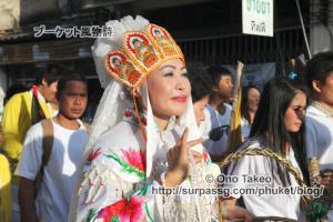 この記事「プーケット ギンジェー祭り その2(JUI TUI寺院編)」の写真 (359-040)