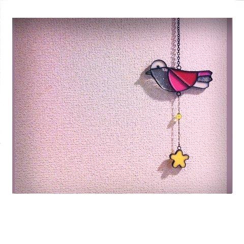 鳥さんの壁飾り