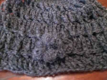手編み帽子2