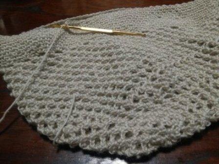 手編み帽子3