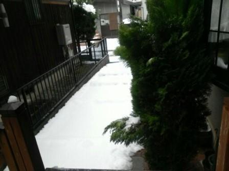 大雪の外5