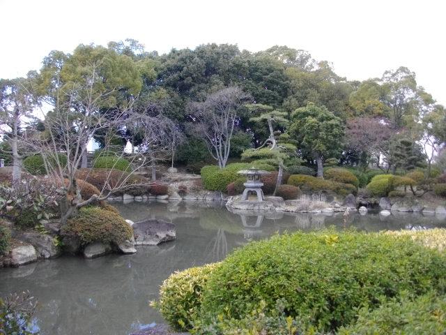 大阪城 日本庭園