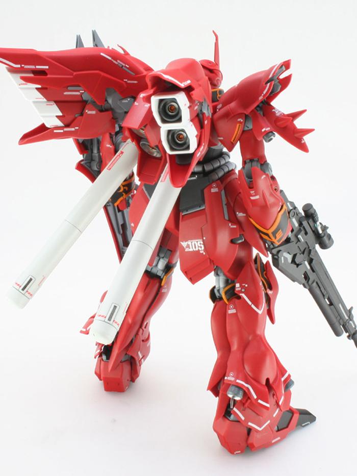 MG シナンジュ Ver.Ka 簡単作例