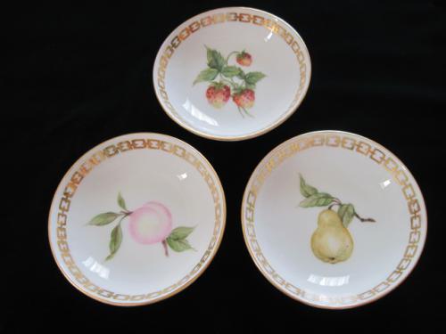 果物の小皿3点セット