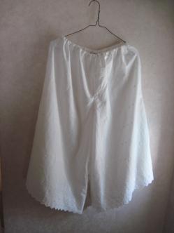 綿ローンのペチパンツ