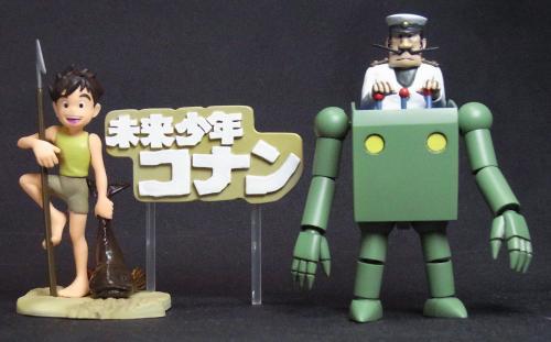ロボロイド完成・コナン