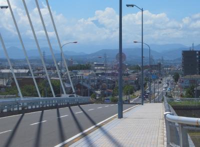 銀河大橋から富士山