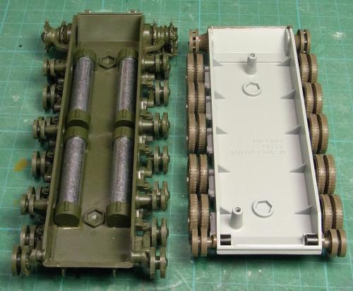 SU-122・ウェイト比較