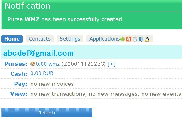 海外WebMoney(WM Transfer)の...
