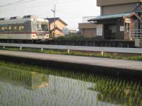 西加積駅前